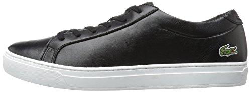 Lacoste Women's L.12.12 117 1 Fashion Sneaker, Black, 6 M US