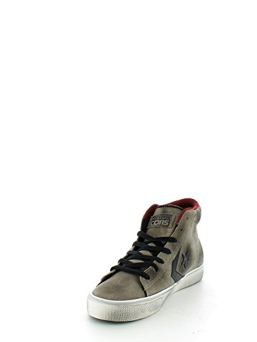 Converse Pro Leather Vulc - Zapatillas abotinadas hombre FOSSIL/RED BLOCK/TURTLEDOVE, beige, marrone