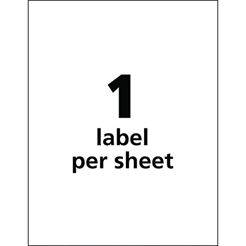 Avery Ultra Duty GHS Chemical Labels for Pigment Inkjet Printers, Waterproof, UV Resistant, 8.5'' x 11'' (60521) by Avery (Image #3)