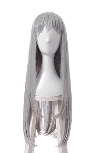 今季一番 Hideri Long Kanzaki Cosplay Hairs Wig Straight Xcoser Blend-S Long Grey Straight Hairs for Women [並行輸入品] B07N4M47HG, HEAD LOCK(ヘッドロック):796a6ec0 --- a0267596.xsph.ru