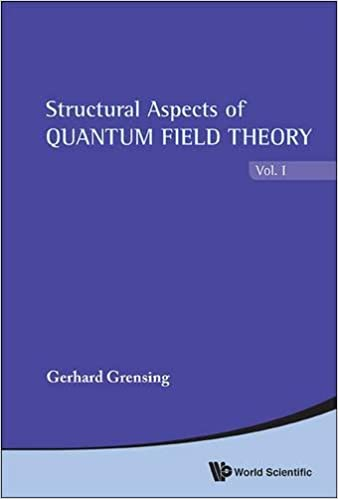 In 2 Volumes Structural Aspects Of Quantum Field Theory And Noncommutative Geometry