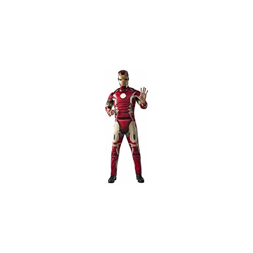 Rubie's Iron Man Muscle Chest Costume, Size XL (40-42) - Man Chest Muscle Iron