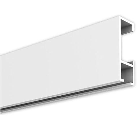 Rieles para cuadros, Carril de la Galería, 10 Metro, blanco: Amazon.es: Hogar