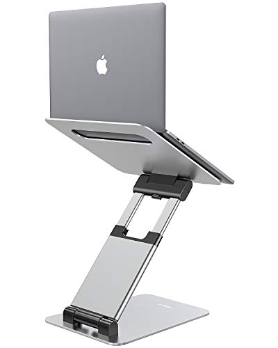 Nulaxy Laptop Stand, Ergonomic Sit to Stand Laptop