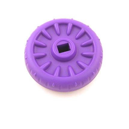 Fisher Price TOUGH TRIKE Replacement Front Wheel - Purple - Fits Many Models