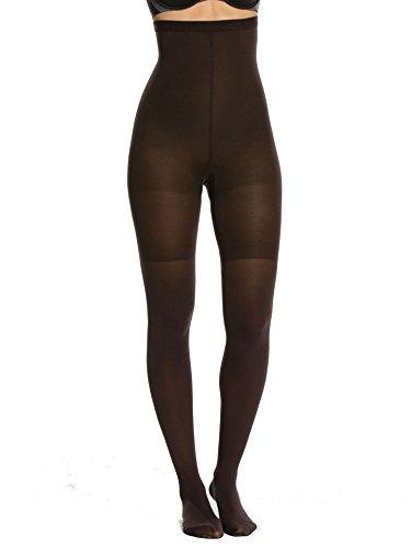 SPANX Luxe Leg High Waist Tights, B, Bittersweet