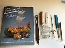 Chef Jerry Crowley Garnishing Kit and Book by Chef Jerry Crowley