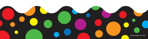 (Carson Dellosa Big Rainbow Dots Borders (1255))