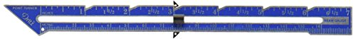 Sewing Seam Allowance (Dritz Seam Gauge with Point Turner, 7-Inch)