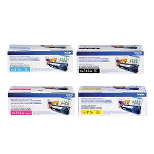 GTS Value Combo: Brand New Genuine Original OEM Brother TN315 4 Pack Toner Cartridge Set