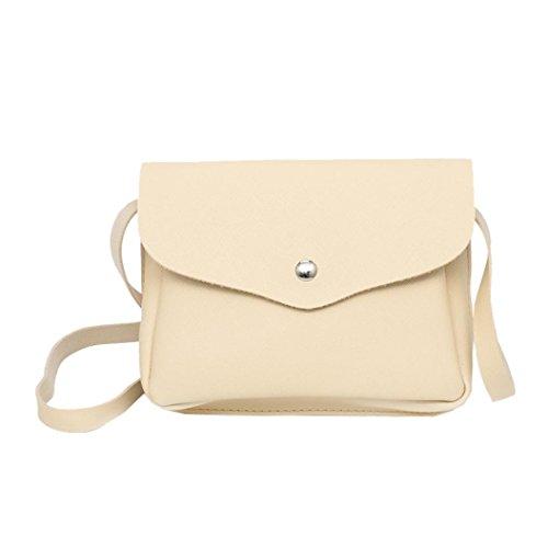 Borse Colore Donna Puro Womens Marca Tracolla Bag Beige Borsa Leather Borse Grandi Crossbody Messenger YanhooVintage Di Borse Desigual Donna Tracolla Borse AnqCOxwg