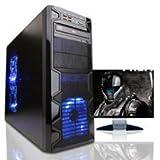 Microtel Computer AMTI7018 Liquid Cooling PC Gaming Computer with Intel i7 6700K 4.0Ghz, 16GB DDR4, 2TB 7200RPM, 24x DVDRW, Nvidia Geforce 1060 GTX 6GB GDDR5 Video Card, 800Watt PS, WIFI