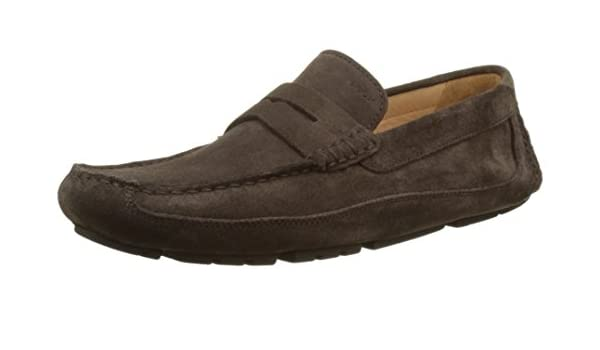 Geox U Melbourne A Mens Suede Moccasins/Shoes