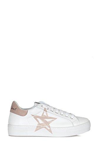 Sneakers In Pelle Niss05 Weiss In Pelle Nira Rubens
