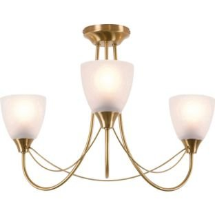 Antique brass 3 light ceiling fitting 443286166 amazon antique brass 3 light ceiling fitting 443286166 aloadofball Gallery