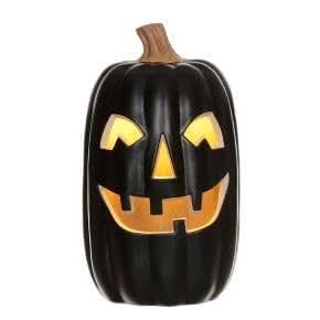 "Halloween Lit Pumpkin Orange 16"" - Hyde and Eek! Boutique (BLACK)"