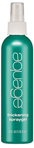 (AQUAGE Thickening Spraygel, 8 oz.)