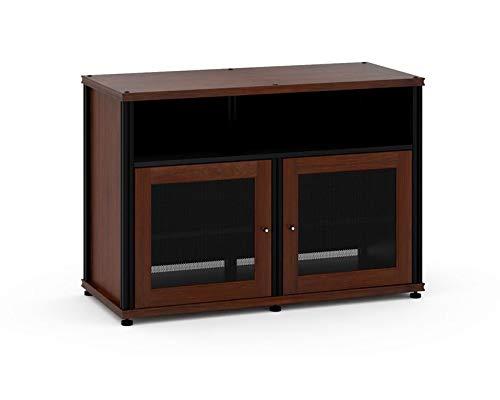 Salamander Synergy 329  A/V Cabinet w/ Two Doors & Center Channel Shelf  (Walnut/Black) ()