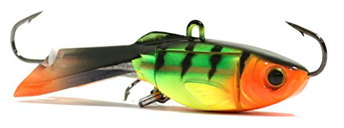 Pro Bait Tackle (Acme Tackle Hyper-Glide Artificial Fishing Bait, Fire Tiger, 2.5