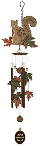 Sunset Vista Designs Babes Squirrel Wind Chime, 36″