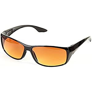 Hd Vision Unisex Black Sunglasses