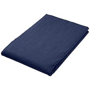 AmazonBasics - Asciugamano da bagno in microfibra, Microfibra, nero/blu, Bagno 1 spesavip