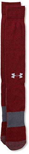 Under Armour Men's All Sport Performance Over-the-Calf Socks (1 Pair), Crimson, X-Large Under Armour Baseball Socks