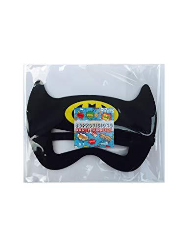 12 Pieces Superheroes Party Fun Cosplay Felt Masks for Boys Girls (BlackBat) -