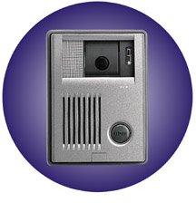 Aiphone KB-DAR KB COLOR TILT DOOR STATION (MAX 3 PER SYSTEM)
