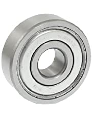 uxcell® a12071000ux0215 6301Z Double Shielded Radial Deep Groove Ball Bearing 12mm x 37mm x 12mm, 0.47 Metal