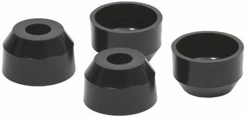 Pack of 4 Daystar KU13025BK Upper and Lower Ball Joint Dust Boot