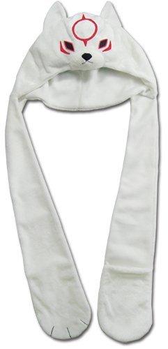 [해외]그레이트 이스턴 엔터테인먼트 오카 미 덴 찌비 테라스 스카프 양털 모자/Great Eastern Entertainment Okami Den Chibiterasu Scarf Fleece Cap