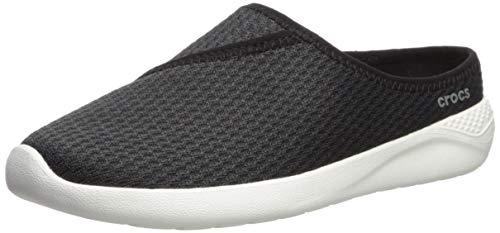 Crocs Women's Women's LiteRide Mesh Mule Shoe, black/white, 11 M ()