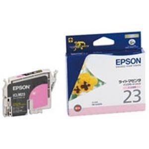 (業務用40セット) EPSON エプソン インクカートリッジ 純正 【ICLM23】 ライトマゼンタ AV デジモノ パソコン 周辺機器 インク インクカートリッジ トナー インク カートリッジ エプソン(EPSON)用 top1-ds-1732201-ah [簡素パッケージ品] B06XQVMJ13