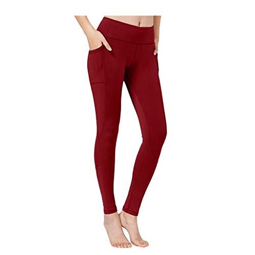 [해외]HIKO23 Leggings for Womens High Waist Yoga PantsPockets Tummy Control Workout Stretch Fitness Trousers / HIKO23 Leggings for Womens High Waist Yoga PantsPockets Tummy Control Workout Stretch Fitness Trousers