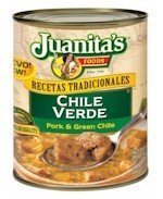 Juanitas Chile Verde, 29.5-Ounce by (Juanitas Chile)