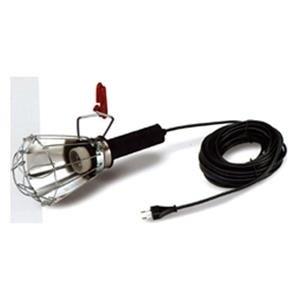 FAMATEL 52403 - Lámpara portátil goma 100W 5m. pinza