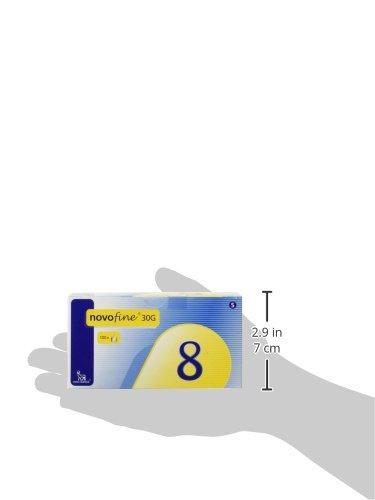 Novofine-30-Insulin-Pen-Needle-Disposable-13-Inch-Box-of-100