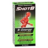 Shot B Energy Tablets 6 pack