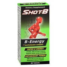Shot B Energy Tablets 6 pack by Shot B