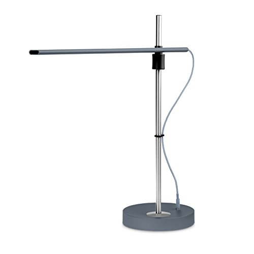 stainless steel table lamp - 5
