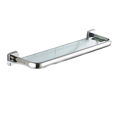 Best Eqeq Stainless Steel Mono Layer Glass Shelf Towel Rack Set