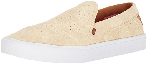 Globe Mens Castro Ly Chaussure Skateboarding Off Blanc / Blanc