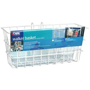 WALKER BASKET SNAP ON A830-00 1EA CAREX HEALTHCARE (Carex Canvas Walker Basket)