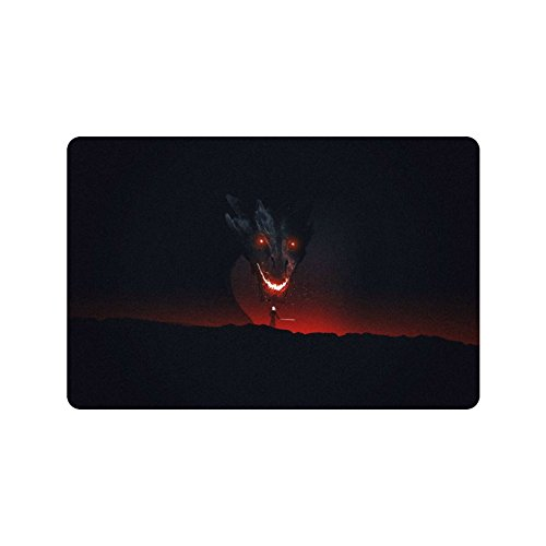 Kitchor Custom Aegon The Conqueror By Maxbeechcreative Print On Doormat For Drying Wet Feet  23 6 X 15 7 Inch