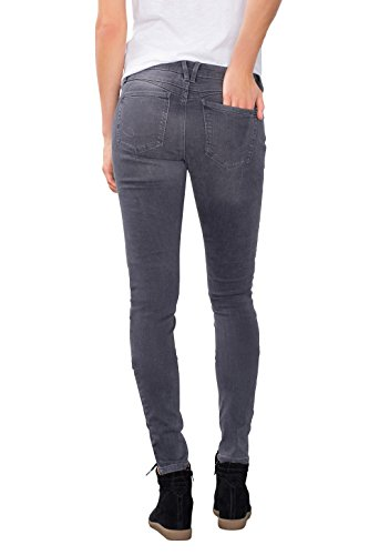 edc by ESPRIT 096cc1b018, Jeans Mujer Gris (Grey Medium Wash)