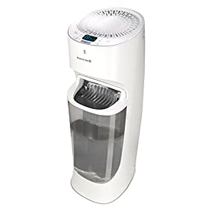 Honeywell Top Fill Tower Humidifier with Digital Humidistat, White