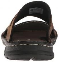 メンズ 男性用 シューズ 靴 サンダル フラット Darwyn Slide 2 - Brown II Leather [並行輸入品]