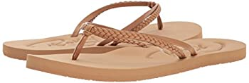 Roxy Women's Cabo Sandals Flip-flop, Tan, 7 M Us 5