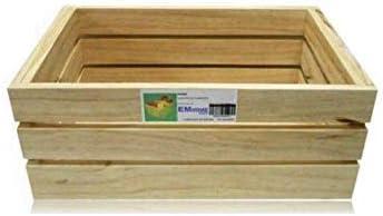 EM Home 1 Piezas Caja de Almacenamiento,Caja de Madera Fruta,También Puede Vender 4 Juegos, tamaño: Amazon.es: Hogar
